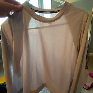 Cropped Nike workout top